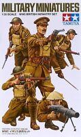 Tamiya 1/35 WWI British Infantry Set Plastic Model Kit 35339 TAM35339