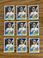 (9) Ken Griffey Jr 1989 Topps Traded Rookie Cards Seattle Mariners As Shown HOT!