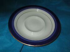 Mikasa Transition Granada Blue SAUCER LOT of TWO 2  have more items to set
