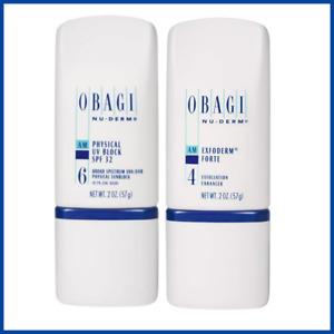 Obagi Medical Physical SPF 32 Sunscreen + Exfoderm Forte 2 oz Bundle