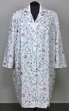 Maggie Sweet 4X White Floral Embroidered Evening Bridal Jacket Coat Plus Size
