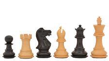 Staunton Wooden Weighted Chess Set Ebony Wood Piece 4Q M0010