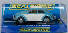Scalextric C3204 VW Beetle 1963 - slot car with working head and tail lights