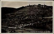 Dilsberg Neckargemünd Neckartal Odenwald AK ~1940 Rainbach Neckar Panorama Fluß