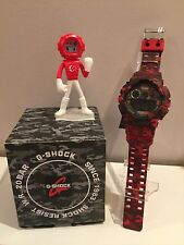 Casio G-Shock GD-120CM-4D Limited  Camouflage Red + (Singapore G-MAN)