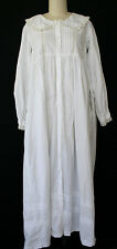 Vintage Victorian Chemise Shabby Chic Nightgown Prairie SCA Country Laura Ingall