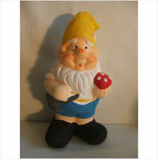 LATEX MOULD MOULDS MOLD.    GNOME WITH MUSHROOM IN HAND  (2017)