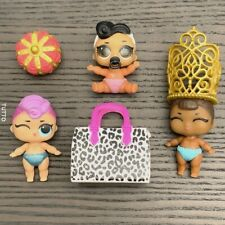 LOL Surprise Doll Lil Dollface & Lil Miss Baby & Lil Punk Sis Glam Club Set Toys