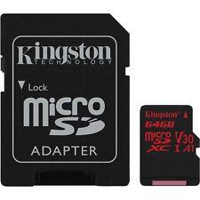 Kingston MicroSD Karte Canvas React SDCR 64gb