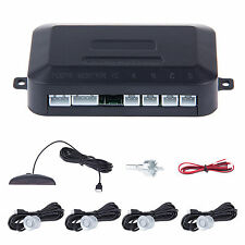Reverse Car Parking Rear 4 Sensors Buzzer Radar Audio Alarm LED Display