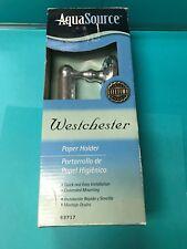 Brand New Aquasource Westchester Chrome Paper Holder 63717 Nib Sealed