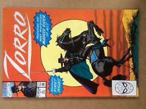 Zorro 1 VF/NM Marvel