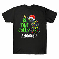 Is this jolly enough Noel Cat Merry Christmas Men's T-Shirt Christmas cat Tee