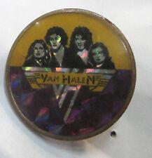 Van Halen Vintage Metal Lapel Pin New From Late 80'S Heavy Metal Wow