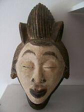 old african mask Punu african art afrikanische kunst Japan face afrikanische