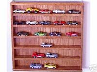 nascar or diecast oak 1//18th 5 car tower display case showcase made in the usa