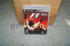 F1 2011 PS3 Formula 1 One Racing w/ VIP Pass NEW