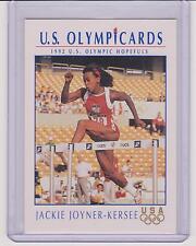 1992 OLYMPIC HOPEFULS JACKIE JOYNER-KERSEE PROFILES CARD #HP8 ~ MULTIPLES