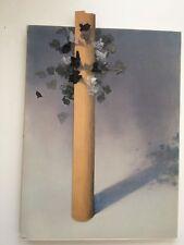 Costas Tsoclis Arbre Tree Collage Assemblage sur Catalogue Iolas Dédicace Signé