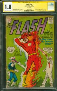 Flash 140 CGC SS 1.8 Joe Giella 1st Heatwave Origin Captain Cold 11/1963