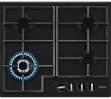 ZANUSSI ZGNN645K Built-in Gas Hob 4 Burners Dials Black - Currys