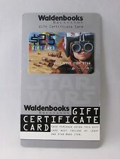 STAR WARS ANAKIN SKYWALKER WALDENBOOKS GIFT CARD - NO VALUE
