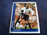 Figurina Ds Sticker France 98 n°290 DAVID BATTY ENGLAND INGHILTERRA World Cup