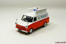 Ford Transit MK1 (British police), Deagostini, model cars 1/43