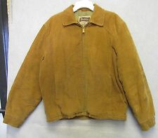 S1121 Shanhouse Sportswear 1940's Colduroy Jacket with Quilted Lining