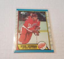 1989-90 TOPPS HOCKEY STEVE YZERMAN #83