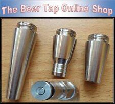 More details for nukatap & intertap stainless steel stout beer spout, growler filler, ball lock.