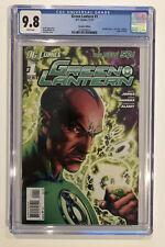 Green Lantern #1 CGC 9.8 - Geoff Johns 2011 - RECALLED EDITION variant
