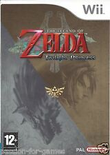 THE LEGEND OF ZELDA TWILIGHT PRINCESS for Nintendo Wii - complete - PAL