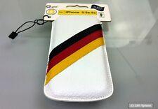 Galeli FIFA WM Handytasche für iPhone 5/5s, Echtleder, Handarbeit, Deutschland