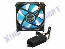 Koeler PC CASE fan 2000 RPM 90 mm WING 9 UV blauw, DBA 10-22,5 GELID + RPM M9C4