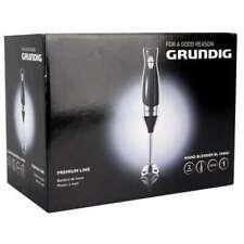 GRUNDIG HAND BLENDER BL 5040U 2 SPEED 200 WATT BLACK BRAND NEW