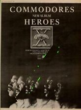 Commodores UK Heroes Promo LP advert 1980 MM-DJKY