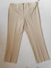 NWT Womens Pants-COURTENAY-light brown rayon stretch straight leg-16W