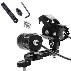 Brake Bracket Post Mount Holder Extender Adapter Universal Headlight Bracket LI