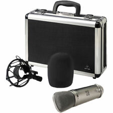 Behringer B-2 PRO mnt Dual Diaphragm Condenser Microphone Mic w/Case & Shockmont