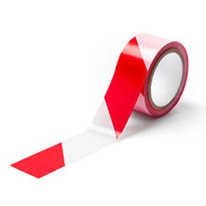 Absperrband  500m 200m 100m Rolle 75mm rot weiß Flatterband Warnband Sperrband