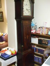More details for antique mahogany and inlay longcase/grandfather clock case only.