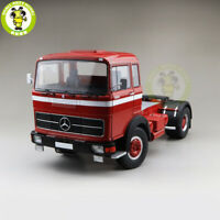 1/18 ROAD KINGS KK Benz Lps 1632 Tractor Truck 1969 Diecast Car Model Toys Red