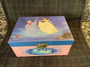 Cinderella Spinning Disney Musical Jewelry Music Box Vintage Bibbidi Bobbidi Boo