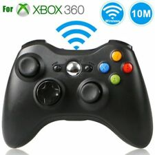 Wireless Controller Gamepad for Microsoft Xbox 360 (Black) - BRAND NEW -US STOCK