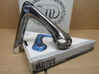 NOS 3T Motus Quill Stem w/Gray Finish (25.8/26.0 mm clamp x 120 mm)...Blemishes