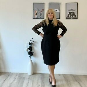 New Look Black Dress, Plus Size 18