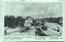Pamlin repro photo postcard C1493 Tunbridge Wells Station South Eastern Railway