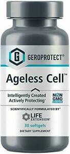 Life Extension Ageless Cell - 30 Soft Gels - Newest Expiration!