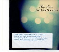 (EY867) Terry Emm, Loved and Never Lost - 2013 DJ CD